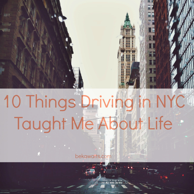NYC Driving